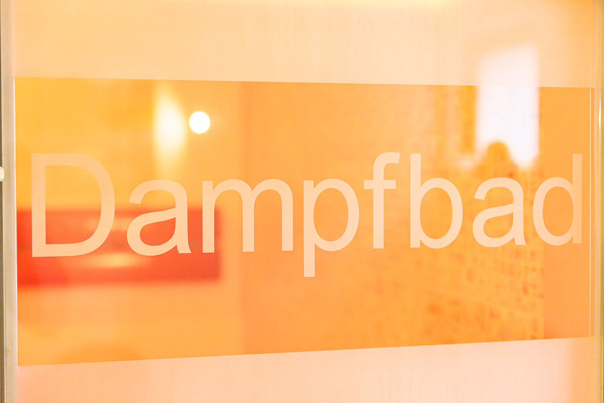 Wellness Dampfbad