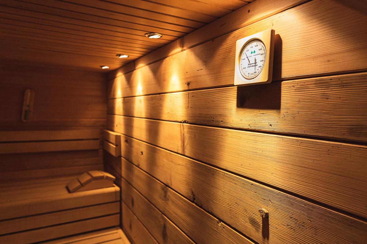 Wellness Finnische Sauna