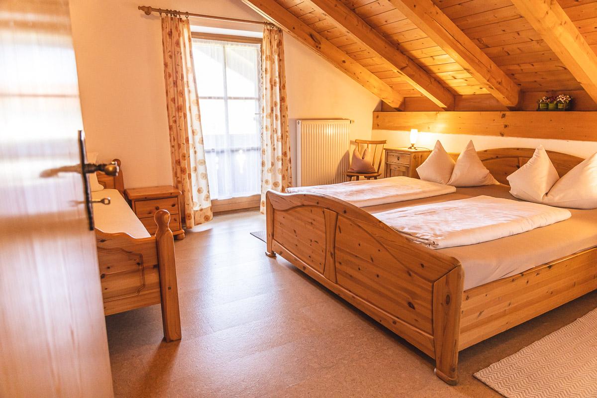 Ferienwohnung Schlafzimmer 3