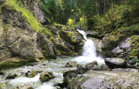 Umgebung Kaltwasserfälle